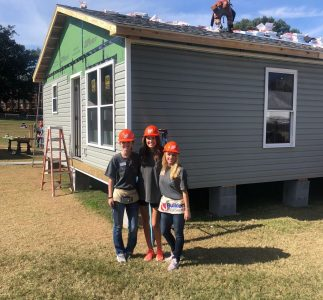 EPOCH Staff members volunteering at the build!