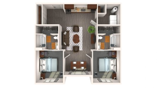 2 Bedroom Luxury Flat