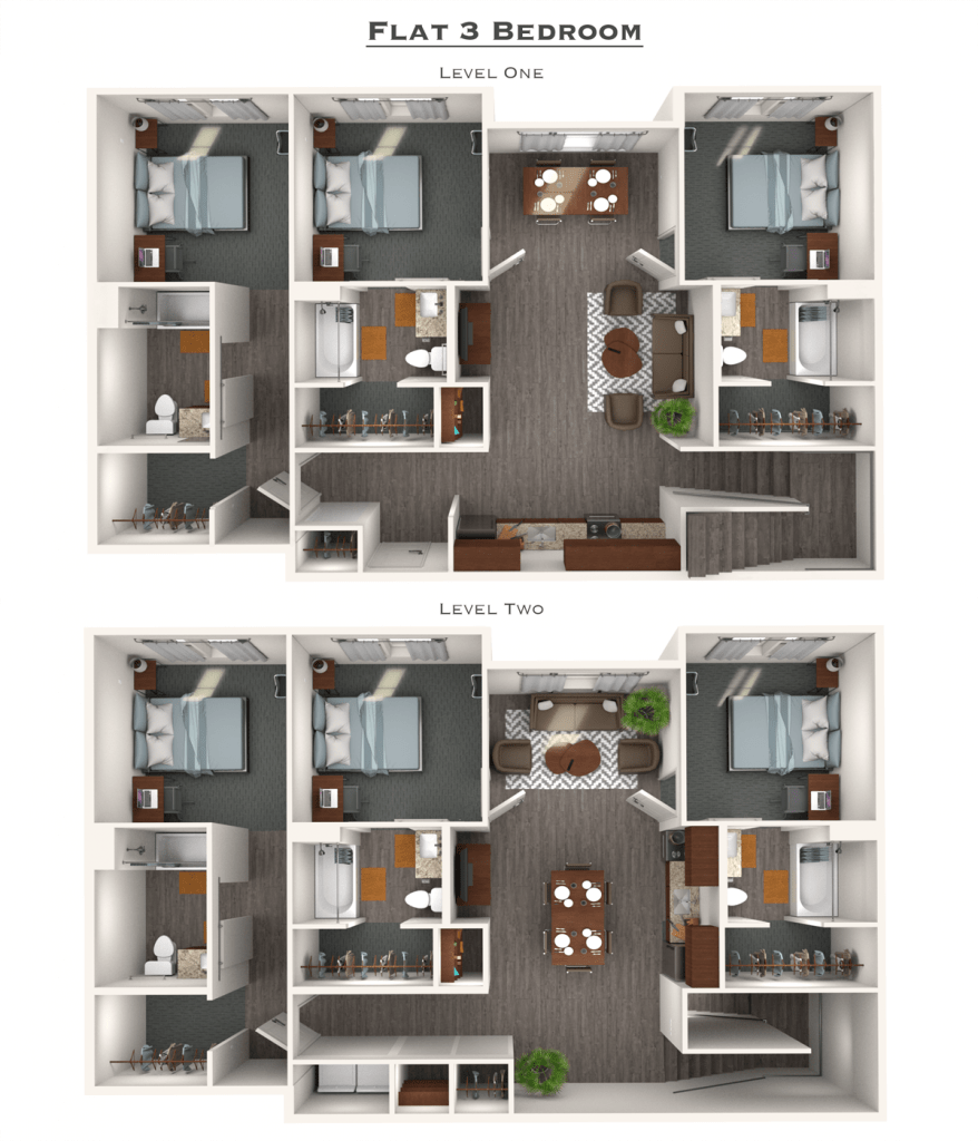 Flats Apartments: 2-6 Bedroom Luxury Apartments