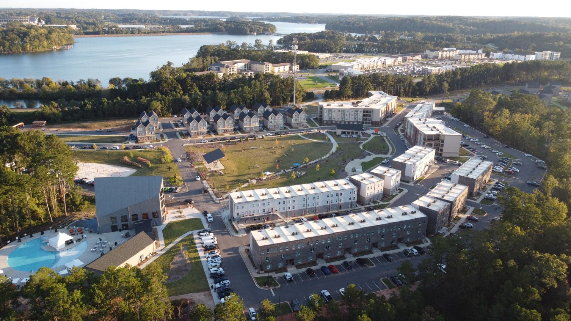 EPOCH Clemson Aerial View